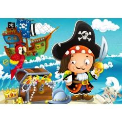 Puzzle Kalóz kaland - GYEREK PUZZLE