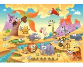 Puzzle A szavanna állatai - GYEREK PUZZLE
