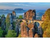 Puzzle Híd a hegyekben
