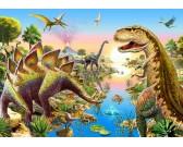 Puzzle Dinoszauruszi folyó