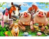 Puzzle Állatok