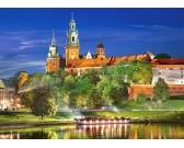 Puzzle Wawel éjjel, Lengyelország