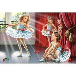 Puzzle Balettáncosok - GYEREK PUZZLE