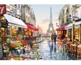 Puzzle Virágüzlet Párizsban
