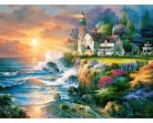 Puzzle Világítótorony a zátonyban
