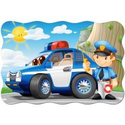 Puzzle Rendőrautó - MAXI PUZZLE