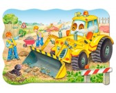 Puzzle Buldózer akcióban - MAXI PUZZLE