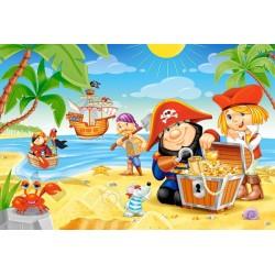 Puzzle Kalóz kaland - MAXI PUZZLE