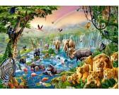 Puzzle Folyó a dzsungelban