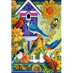 Puzzle Összejövetel a kertben