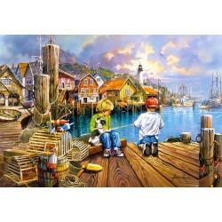 Puzzle A kikötőben