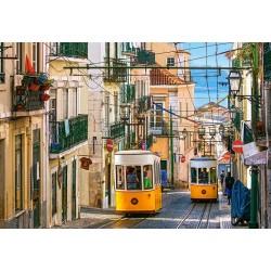 Puzzle Villamos Lisszabonban