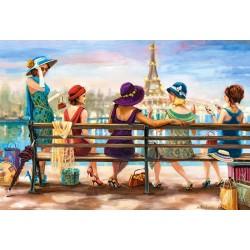 Puzzle Hölgyek Párizsban