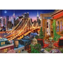 Puzzle A Brooklyn-híd fényei