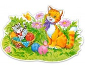 Puzzle Macskák - MAXI PUZZLE