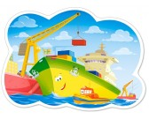 Puzzle Egy nap a kikötőben - GYEREK PUZZLE