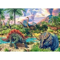 Puzzle Dinoszauruszok élete - GYEREK PUZZLE