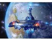 Puzzle Földönkívüli űrhajó - GYEREK PUZZLE
