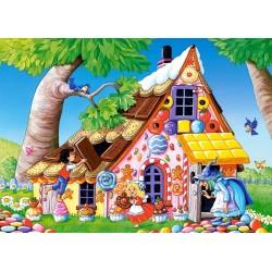 Puzzle Mézeskalács házikó - GYEREK PUZZLE