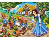 Puzzle Hófehérke és a hét törpe - GYEREK PUZZLE