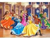Puzzle Hercegnők a bálon - GYEREK PUZZLE