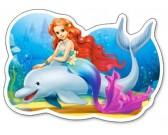 Puzzle Hableány delfinnel - GYEREK PUZZLE