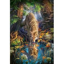 Puzzle Farkas a vadonban