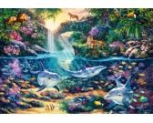 Puzzle Paradicsom a dzsungelben
