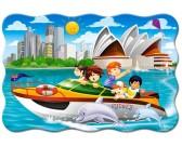 Puzzle Hajókirándulás Sydney-ben - GYEREK PUZZLE