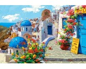 Puzzle Tavasz Santoriniben