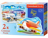 Puzzle Repülőgépek - GYEREK PUZZLE