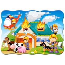 Puzzle Tűzoltók akcióban - GYEREK PUZZLE