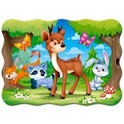 Puzzle Kisfiú barátaival - GYEREK PUZZLE