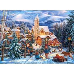 Puzzle Karácsonyi hangulat - GYEREK PUZZLE