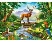 Puzzle Harmónia az erdőben - GYEREK PUZZLE
