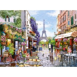 Puzzle Virágzó Párizs