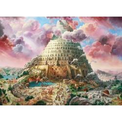 Puzzle Bábel tornya