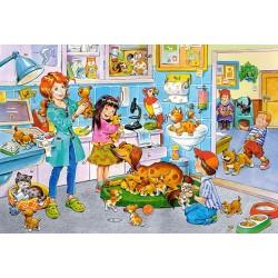 Puzzle Látogatás az állatorvosnál - GYEREK PUZZLE