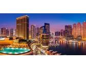 Puzzle Marina Pano, Dubai - PANORAMATIKUS PUZZLE
