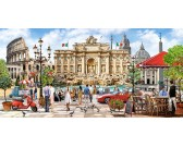 Puzzle Róma pompája - PANORAMATIKUS PUZZLE