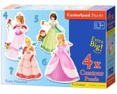 Puzzle Csinos hercegnők - GYEREK PUZZLE