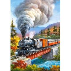 Puzzle Vonat a hídon