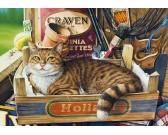 Puzzle Macska a dobozban