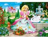 Puzzle Hercegnő hattyúval - GYEREK PUZZLE