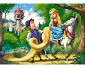Puzzle Arnyhajú lány a herceggel - GYEREK PUZZLE