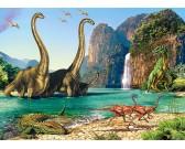 Puzzle Dinoszauruszok világa - GYEREK PUZZLE
