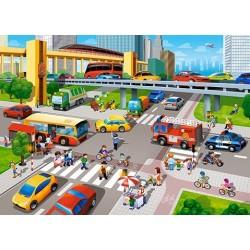 Puzzle Elfoglalt útkereszteződés - GYEREK PUZZLE