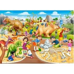 Puzzle Dinopark - GYEREK PUZZLE