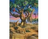 Puzzle Afrikai vadvilág