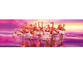 Puzzle Flamingók - PANORAMATIKUS PUZZLE